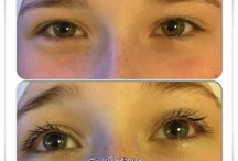 Brows and Lashes / A record of my work on brows and eyelashes