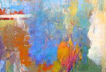 Art -Tony Saladino / Modern art -colour abstracts