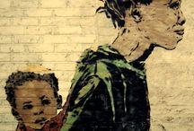Tragende Kunst / Kunst rund um's Tragen / Babywearing art