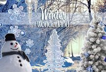 Winter wonderland / Childern making snowmans. This is winter wonderland, the joyful and modern atmosphere that Idolight creates with its projects