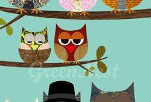Owls ~ Eulen