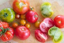 Tomaten in de hoofdrol! / Tomaten, in verschillende kleuren, geuren en vormen. Maar wel steeds lekker en gezond!