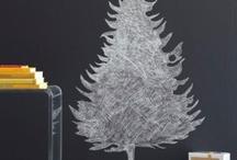 Tegnet juletræ