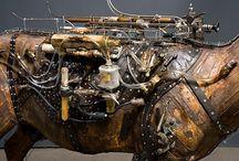 Steampunk - montage fluide et mécanique