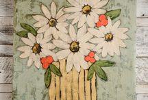natür mort çiçek