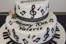Hudobné torty