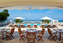 Ocean Club / Our private Ocean Club creates the beachside experience that dreams are made of in Puerto Vallarta. An exclusive retreat on the ocean's edge with crystal-clear swimming pool, lounge areas and cabanas, the Ocean Club also serves a refreshing menu of sophisticated Asian-inspired cuisine and spirited cocktails. / by Casa Velas Hotel & Ocean Club