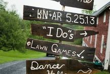 Wedding Signs and Decor