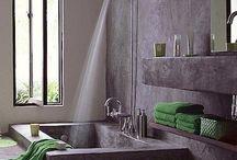 Sunken shower / Shower head