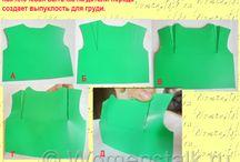 шитье / швейные изделия выкройки мода