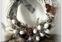 DIY and crafts easter wreath and decorations