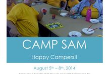 Camp Sam - Camps / Here is where you can learn all about our camps! When they are, how to contact us!