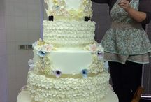 Florence Italy Wedding Cake / Wedding Cake in Florence Italy by L'Arte Della Torta di Melanie Secciani