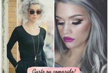 Cabelo Cinza | Granny Hair / Granny Hair | Cabelo Cinza http://caroldoria.com/2015/04/inspiracao-cabelo-cinza/