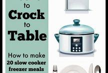 Freezer meals/planning