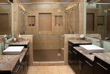Master Bathroom Inspiration / Farmhouse master bathroom, master bathroom ideas, DIY master bathroom, master bathroom decor, master bathroom reveal, small master bathroom ideas, master bathroom makeover, rustic master bathroom