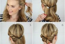 Hairstyles / cute easy hairsyles, hair, female hairstyles