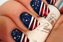 * 4th of July Nail Art Designs / by Bliss Kiss