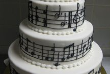 FPP #music #cake #ideas / All things musical and cakish x