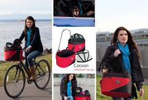 Cocoon bike basket and Cocoon car seat
