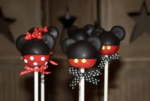 Mickey Mouse Cake Balls / by Kathy Sidwell
