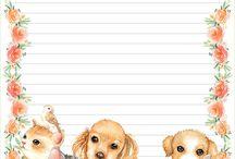 Cute writing paper ♥