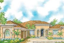 Southwestern House Plans - The Sater Design Collection / The Sater Design Collection Southwest home plan portfolio includes our finest Southwestern house plans, each showing the varied influences that have crafted the Southwestern home style including Pueblo, Mission and Andalusian. Stone accents and multiple arches help to create the Southwestern facade. As with any of our Sater Design homes, each plan is carefully designed to meld the indoors with the outdoors. Every space in the home is thought out and planned.