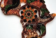 Quilling / modern