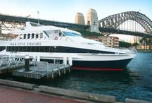 Sydney Lunch Cruise / Experience a treasured time of your life by booking a Sydney Harbour lunch cruise on Majestic cruise. Relish the freshly prepared buffets aboard with the spectacular views of the Sydney harbour as the backdrop.