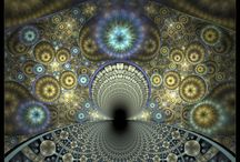 Mathematics - Art- fractal theory in pictures