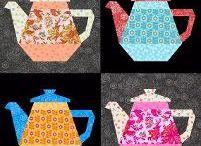 coffee, tea quilt