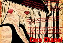 Coco Quotes / A series of Quotes from the one and only Coco Chanel
