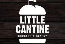 Burger logo and uniform