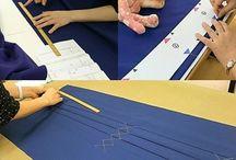 趣味のはかま製作教室 / https://toawasai-hobby.localinfo.jp/ 趣味の和裁by東亜和裁の「女袴製作教室」の様子です