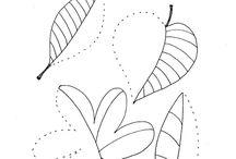 Pracovní listy - podzim