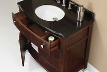 Bathroom Furniture / Vanities, Wall Cabinets, Mirrors all designed by DECOLAV.