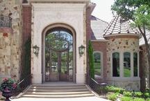 Architectural Iron Doors / Iron Doors designed by Solara.  https://solaracustomdoorsandlighting.com