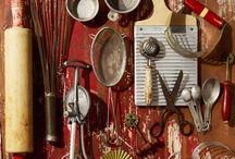 빈티지 요리 도구