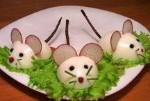 Húsvéti asztal dekoráció
