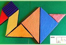 LUDOTOCCA / Schede tattili, giochi, materiali per bambini