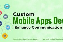 Mobile Apps Development Service Kolkata (India) / Creative Filament offers Android and iOS mobile apps development service. Our mobile apps developers has experience in PhoneGap, Hybrid, HTML5 etc. For more please Mail us back ➡️ info@creativefilament.com