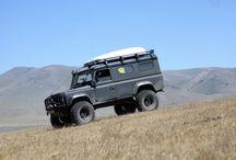 My Land Rover Defender / Фотографии и видео моего внедорожника LR Defender 110