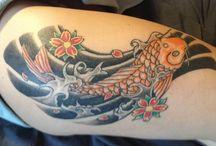 Kézi tetoválások / Analog Tattoo Stúdióban készülő tradicionális tebori és hand poke tetoválások