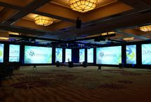 2016 ELFA Convention / Palm Springs / EVENTEQ worked with producer O'Keefe Communications to deliver the stage set, audio, lighting, video for the 2016 ELFA convention in Palm Springs, CA.  Set design and production management by O'Keefe Communications.  Set build and delivery, audio, video and lighting by EVENTEQ.