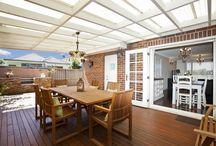 20 belles patio patio en bois idées