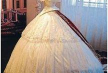 Vestidos de baile 1850-1860