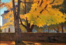 Træer / Impressionisme træer