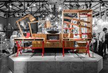 Exxes Bureau and bureau bookcase