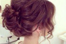 Выпускной/причёска