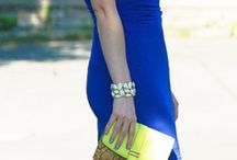 COTD Style Challenge: Sky Blue and Highlighter Yellow